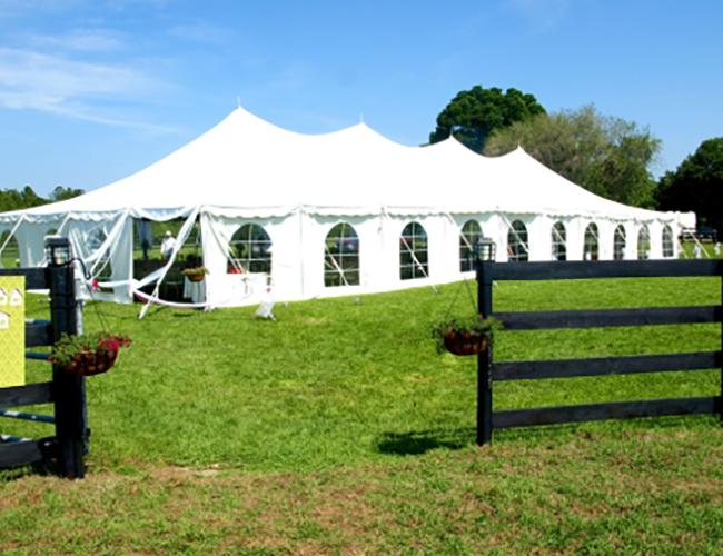 Tent wedding reception - Image 21
