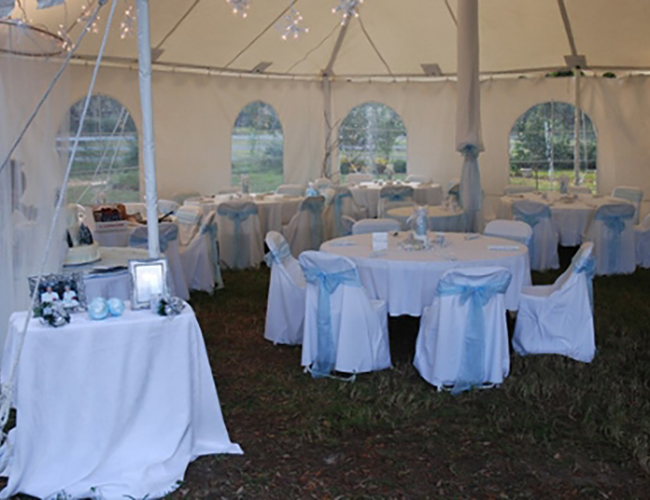 Tampa Tent and chair rentals - image 23