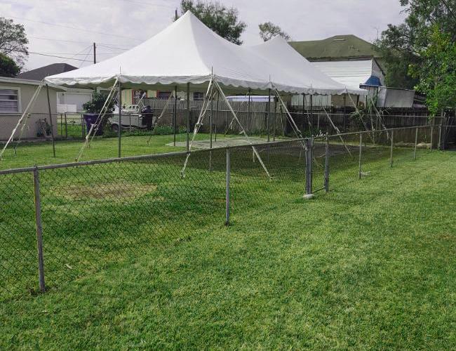 Backyard tent rental - Image 8
