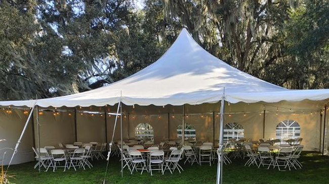 Party tent hire - Image 24