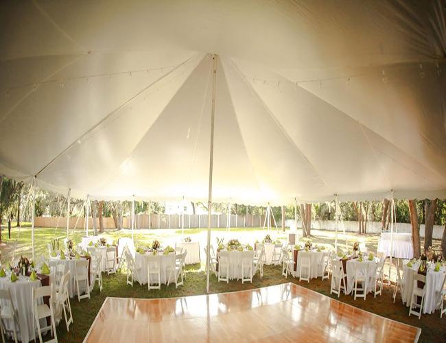 20x20 tent rental - image 9
